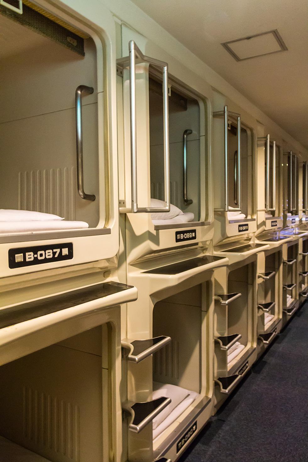 Tokyo Nine Hours Kapselhotel