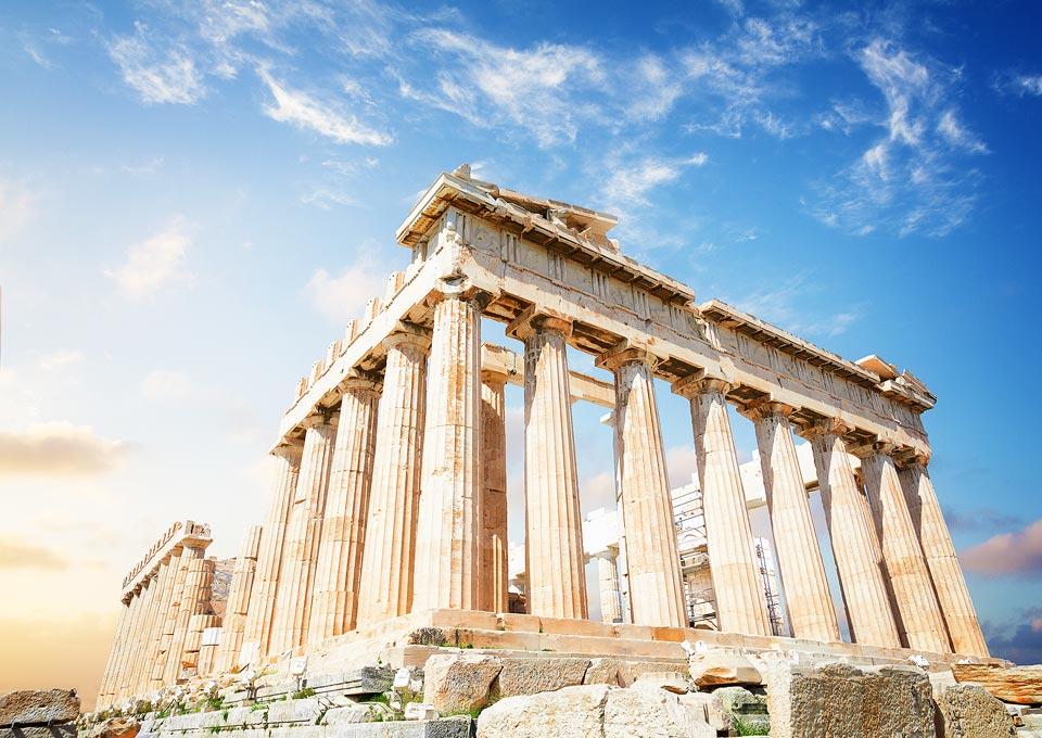 Athen - Akropolis am Tag
