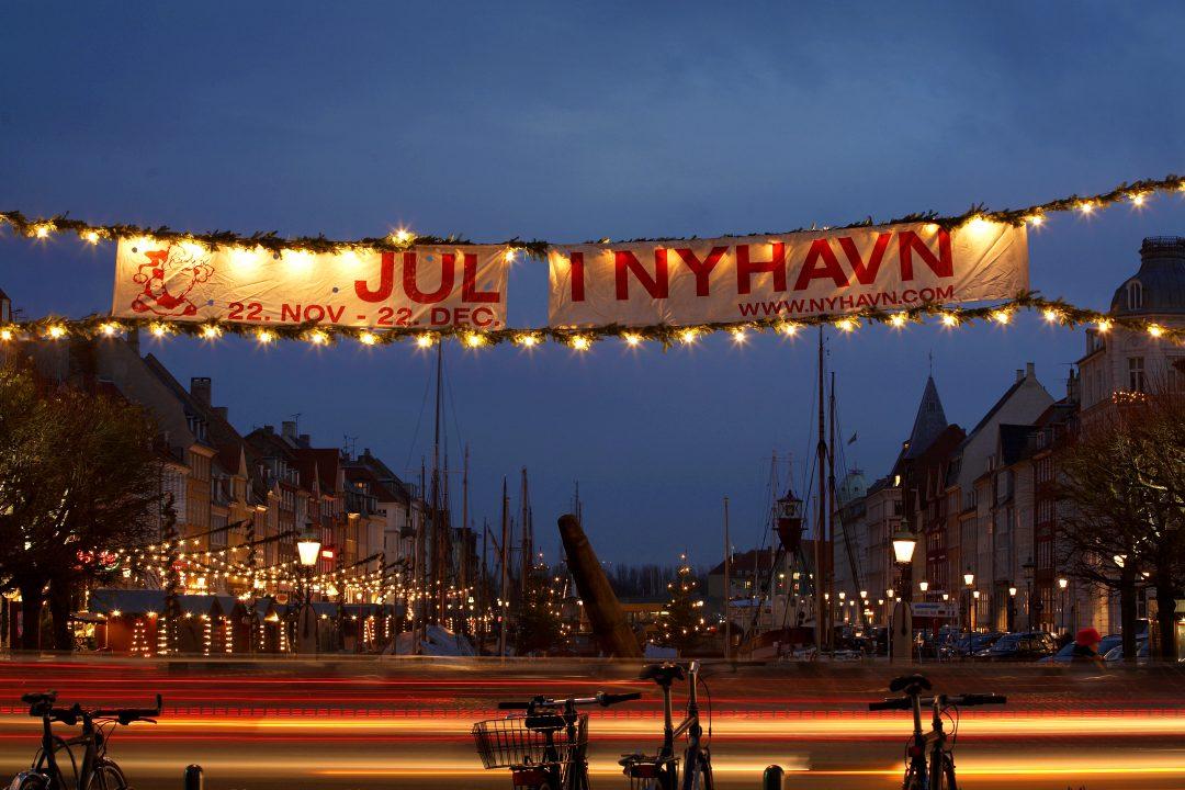 Weihnachtsmarkt Nyhavn in Kopenhagen
