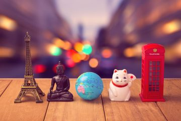 Souvenirs der Reiseziele