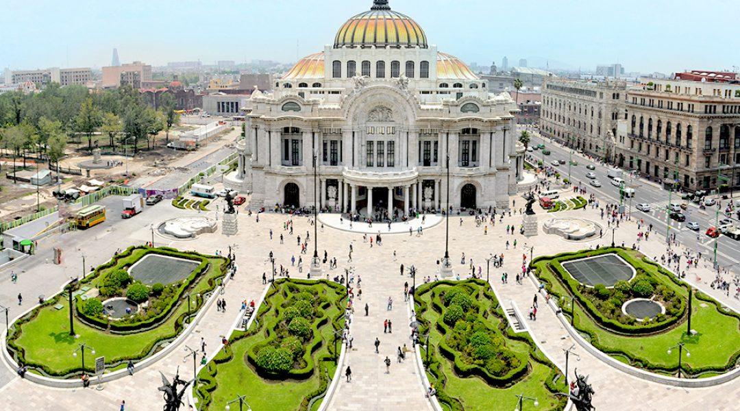 Mexico Stadt Palacio