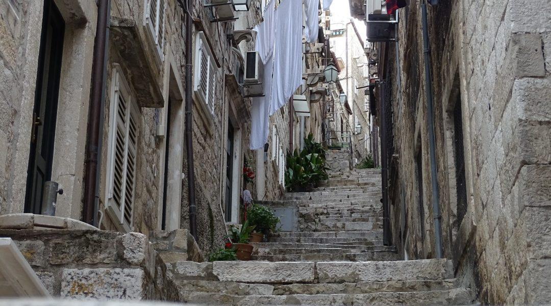 Alte Treppengasse in Kroatien