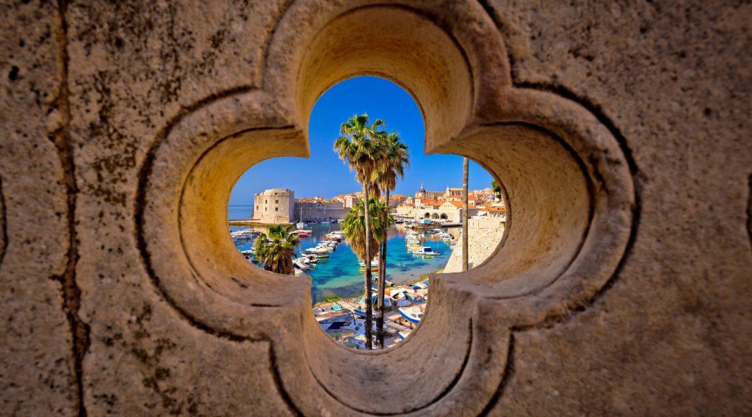 Blick auf den Hafen von Dubrovnik