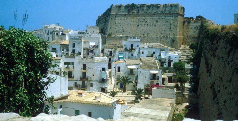 d'Alt Vila und Stadtmauer, Ibiza