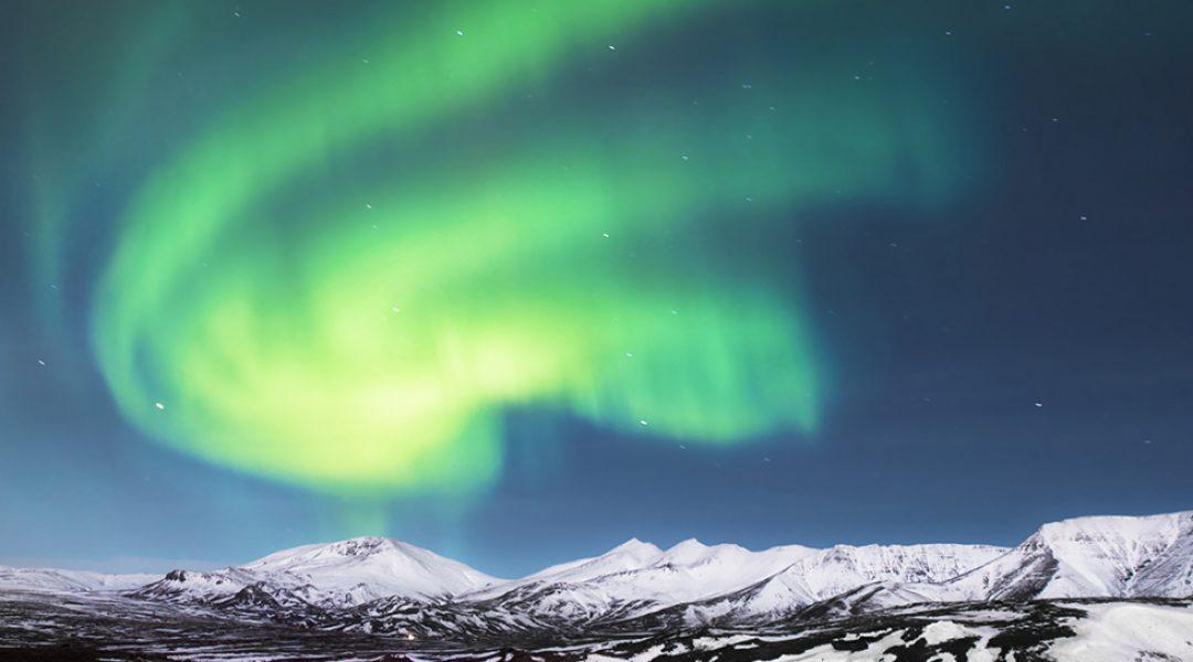 Nordlichter Polarlichter Lappland
