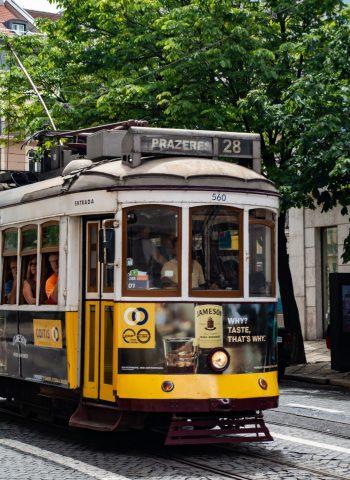 Straßenbahn 28 nah