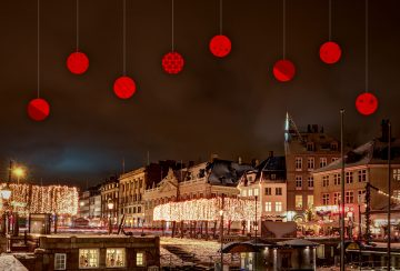 Das Bild zeigt den Nyhavn in Kopenhagen