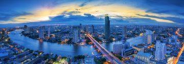Bangkok Skyline zum Etihad Upgrade Special