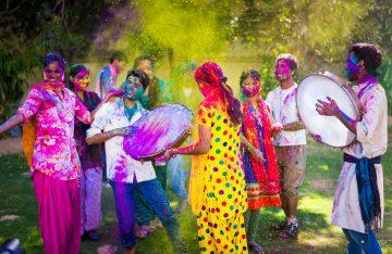 Festival Farben
