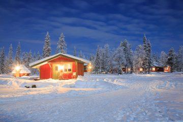 Skandinavien Haus Island Finnland Norwegen