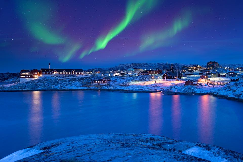Ilulissat Aurora Grönland