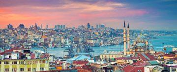 Istanbul Stadtansicht mit Bosporus