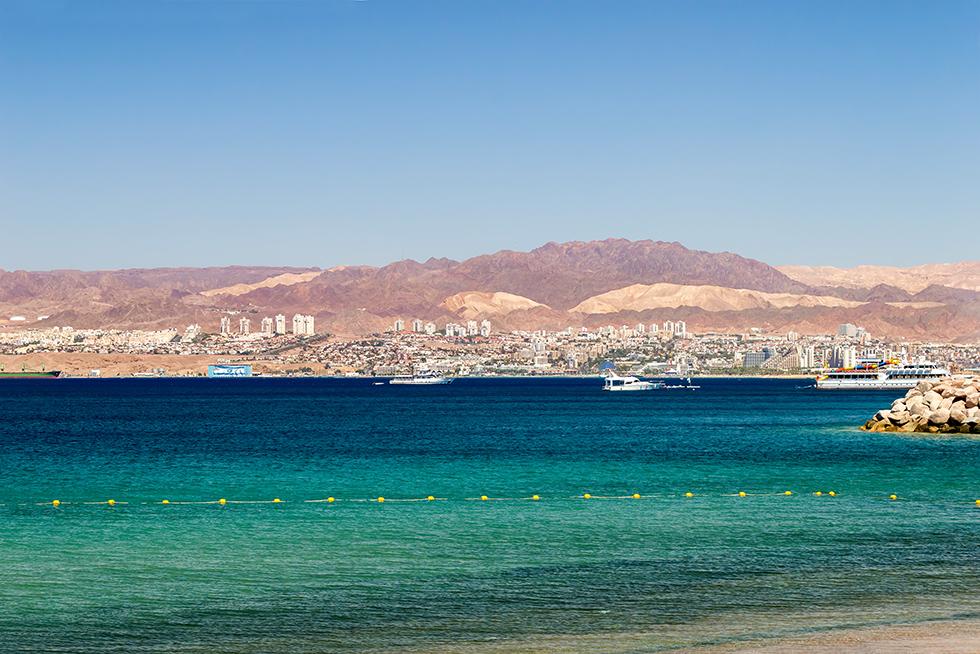 Jordanien Strand Aqaba