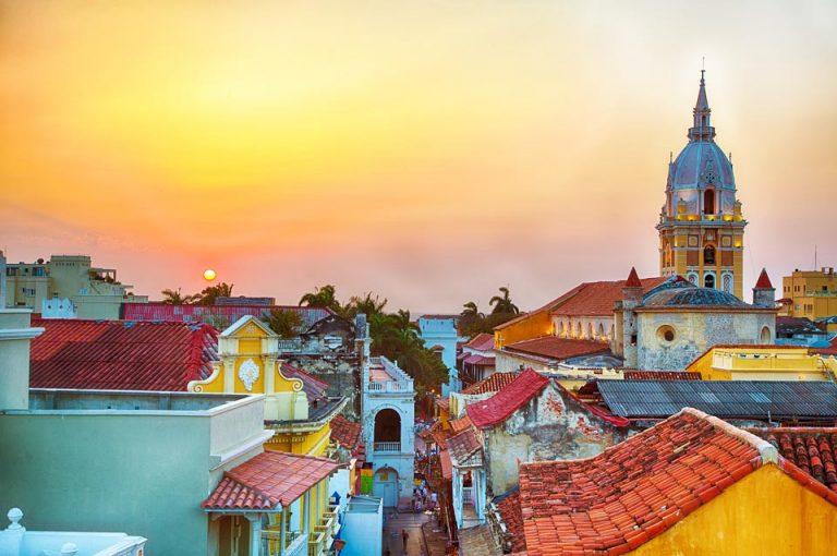 Sonnenuntergang über Cartagena