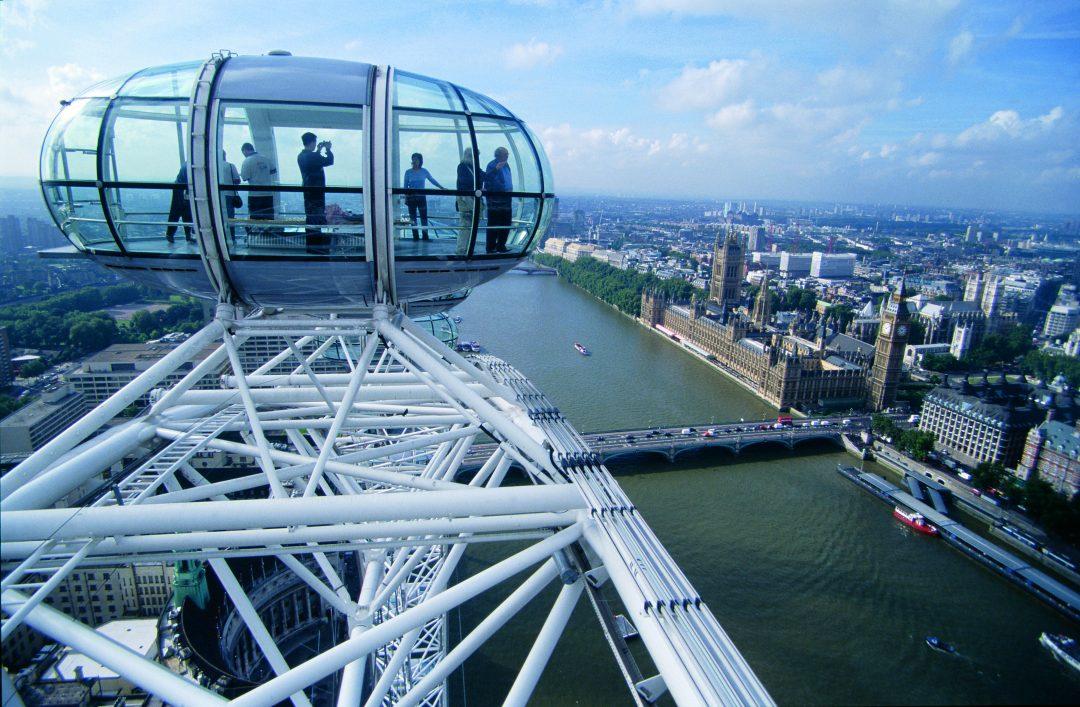 Sicht aus dem London Eye