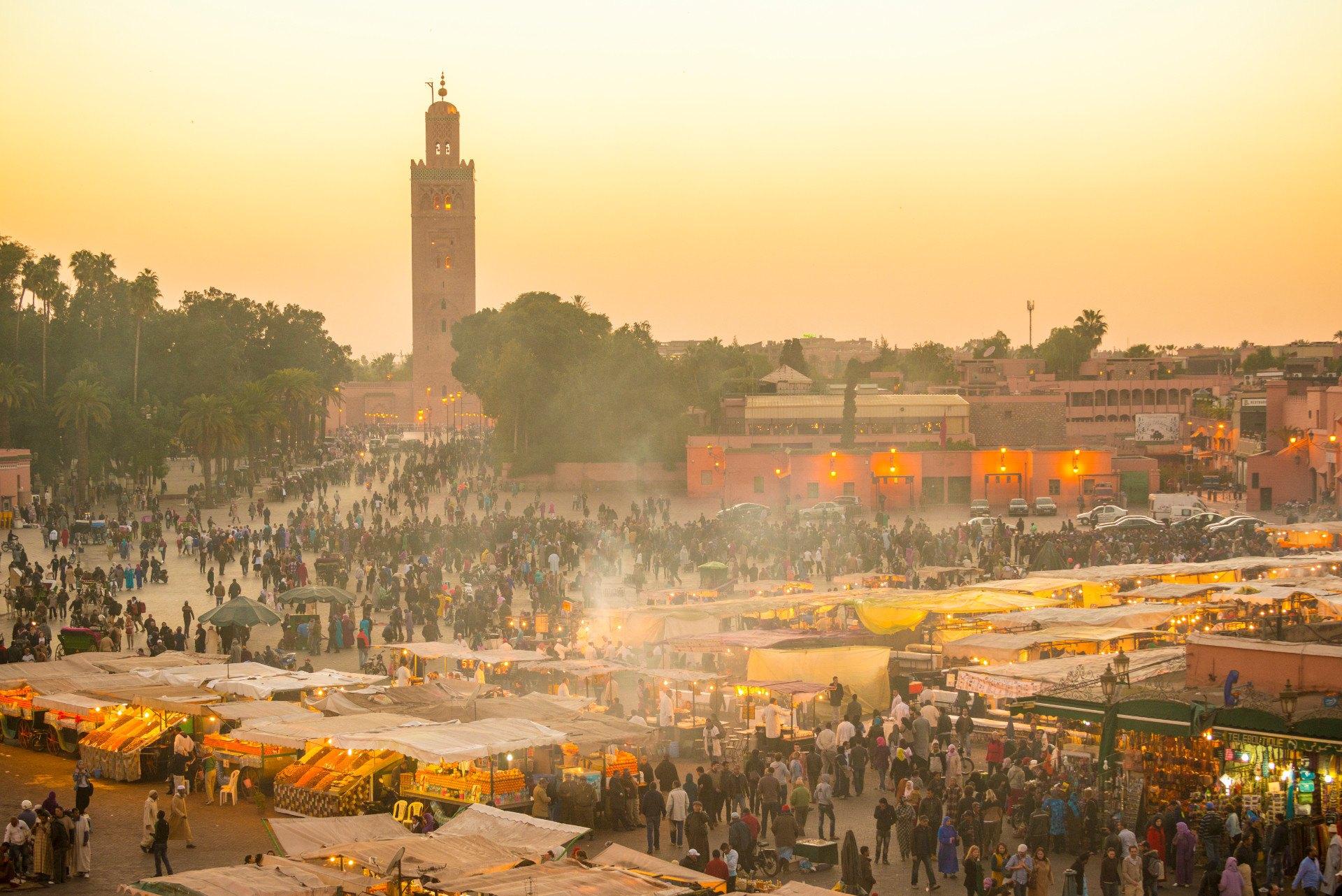 Wir Zeigen Euch Die Fünf Besten Rooftop Bars Von Marrakesch