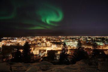 Polarlichter Reykjavik
